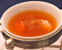 蟹肉魚翅湯