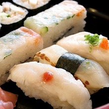 河豚握壽司拼盤