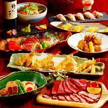 4,000日圓套餐 (11道菜)