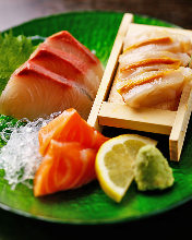3種生魚片拼盤