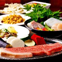 15,400日圓套餐 (12道菜)