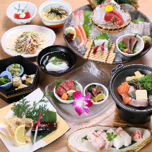 4,400日圓套餐 (10道菜)