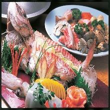 7,000日圓套餐 (11道菜)