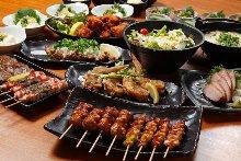 2,980日圓套餐 (10道菜)