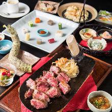 6,800日圓套餐 (9道菜)