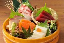 5種生魚片拼盤