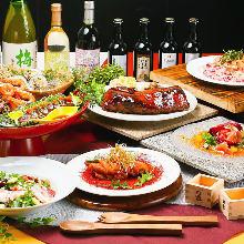 6,200日圓套餐 (7道菜)