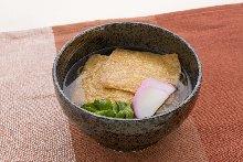 油炸豆腐蕎麥麵