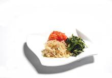 3種韓式拌菜拼盤