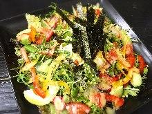 酪梨豆腐沙拉