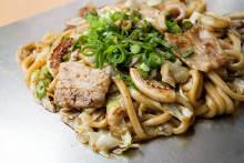 牛筋肉味噌烏龍麺