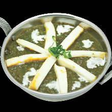 印度起司煮菠菜