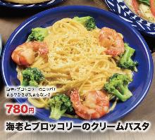奶油義大利麵
