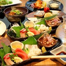 4,100日圓套餐 (8道菜)