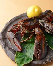 鐵板烤活大螯蝦
