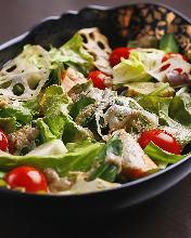 烤蔬菜配意式蘸醬