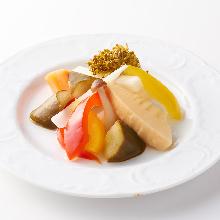 什錦西式鹹菜