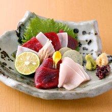 鯨魚生魚片