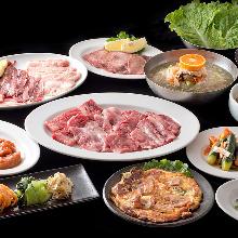 6,000日圓套餐 (15道菜)