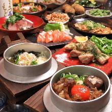 4,500日圓套餐 (11道菜)