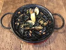 墨魚汁西班牙燉飯