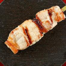 炭火烤豬肉