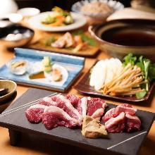 7,128日圓套餐 (6道菜)