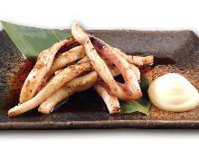 奶油烤魷魚