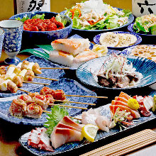 4,950日圓套餐 (10道菜)