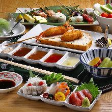 8,000日圓套餐 (7道菜)