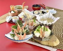 4,104日圓套餐 (9道菜)