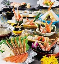 8,100日圓套餐 (10道菜)