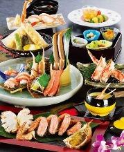 11,340日圓套餐 (9道菜)