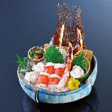 帝王蟹(生魚片)