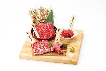 4種烤肉拼盤