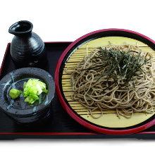 竹盤蕎麥冷麵