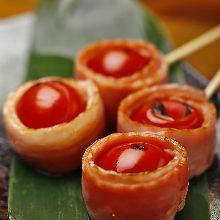 培根番茄串燒
