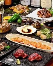 9,900日圓套餐 (9道菜)