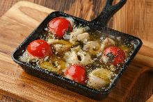 香蒜橄欖油泡番茄