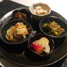 5種家常菜拼盤