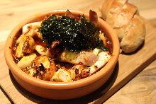 西班牙風味蒜香魷魚