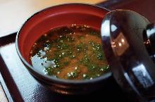 海萵苣味噌湯