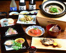 7,000日圓套餐 (10道菜)