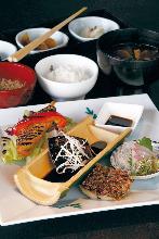 1,500日圓套餐 (9道菜)
