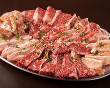 6種烤肉拼盤