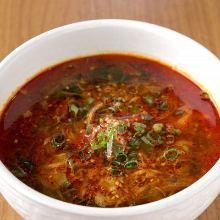 韓式辣湯飯(牛肉)
