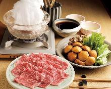 8,000日圓套餐 (6道菜)