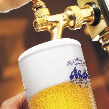 朝日超爽超冷啤酒