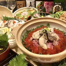 4,320日圓套餐 (7道菜)