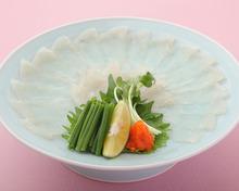 河豚生魚片